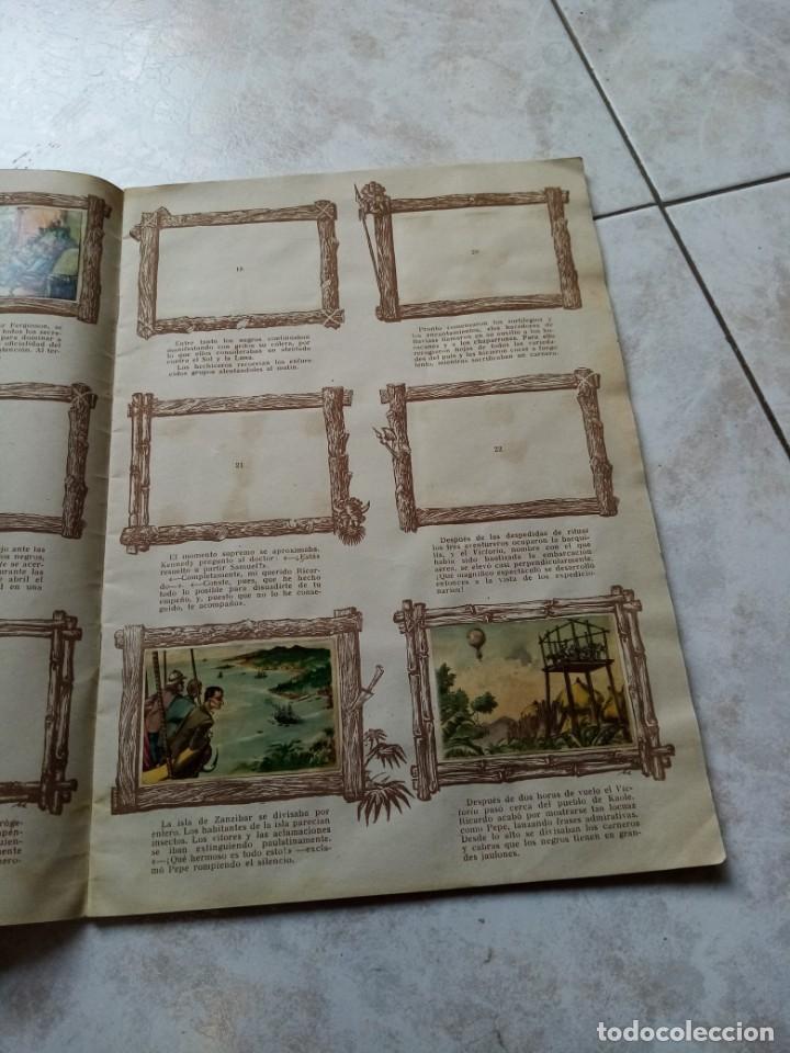 Coleccionismo Álbumes: ALBUM DE CROMOS CINCO SEMANAS EN GLOBO / TORAY - Foto 6 - 276957288