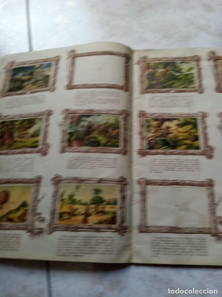 Coleccionismo Álbumes: ALBUM DE CROMOS CINCO SEMANAS EN GLOBO / TORAY - Foto 7 - 276957288