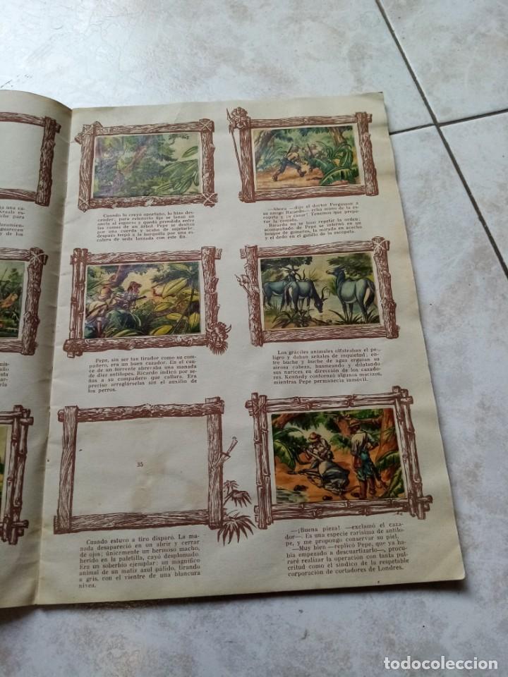 Coleccionismo Álbumes: ALBUM DE CROMOS CINCO SEMANAS EN GLOBO / TORAY - Foto 8 - 276957288