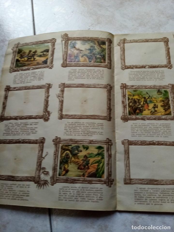 Coleccionismo Álbumes: ALBUM DE CROMOS CINCO SEMANAS EN GLOBO / TORAY - Foto 9 - 276957288