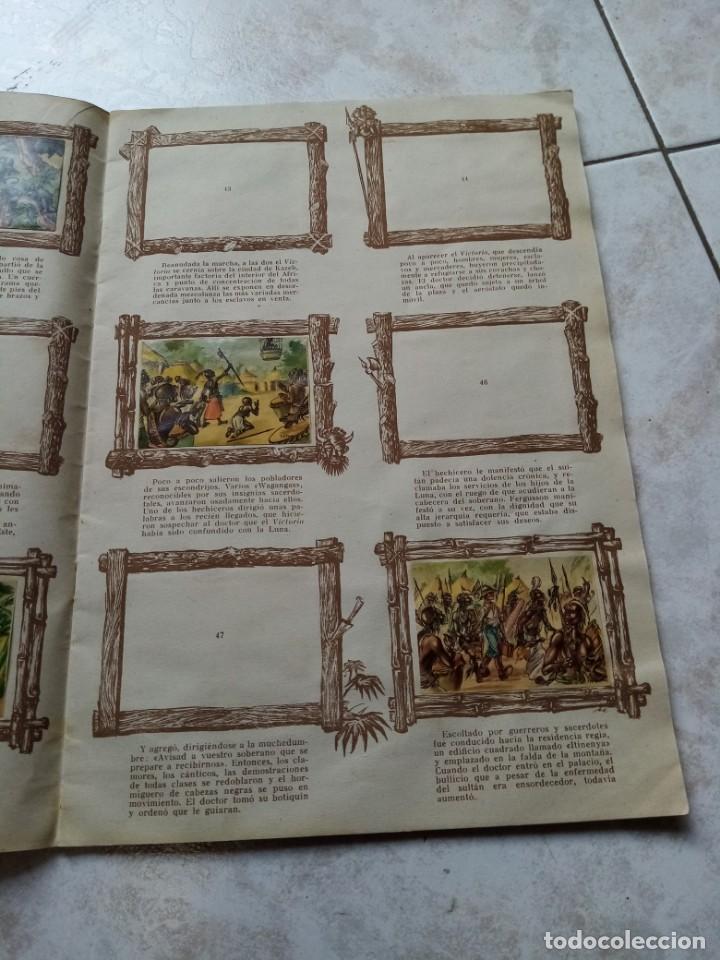 Coleccionismo Álbumes: ALBUM DE CROMOS CINCO SEMANAS EN GLOBO / TORAY - Foto 10 - 276957288