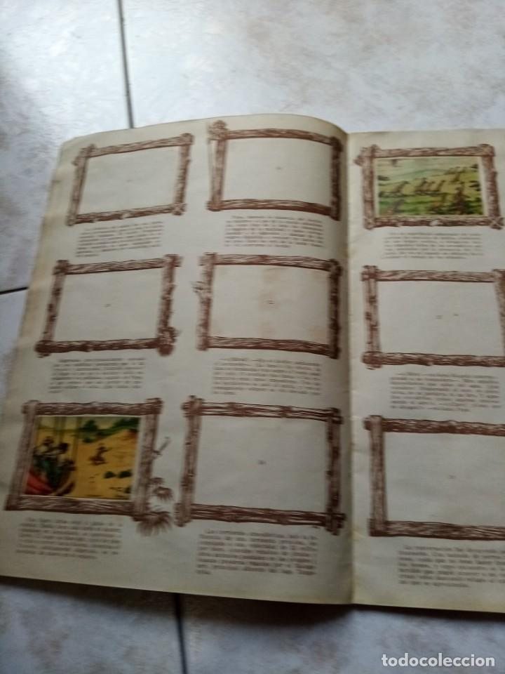 Coleccionismo Álbumes: ALBUM DE CROMOS CINCO SEMANAS EN GLOBO / TORAY - Foto 11 - 276957288