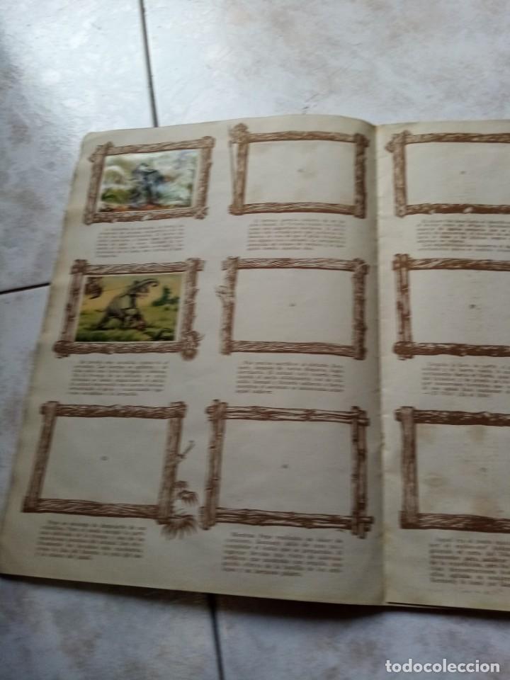 Coleccionismo Álbumes: ALBUM DE CROMOS CINCO SEMANAS EN GLOBO / TORAY - Foto 13 - 276957288