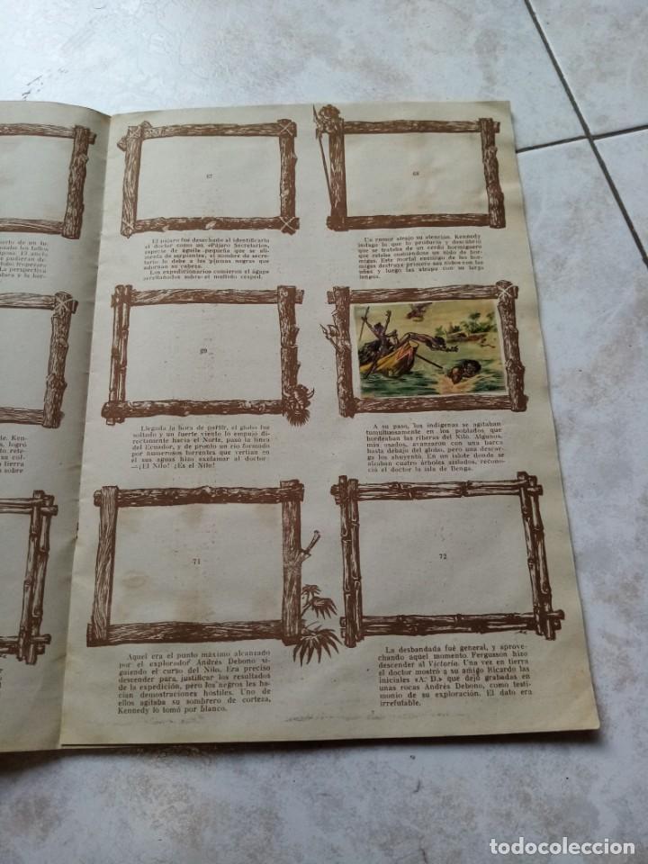 Coleccionismo Álbumes: ALBUM DE CROMOS CINCO SEMANAS EN GLOBO / TORAY - Foto 14 - 276957288
