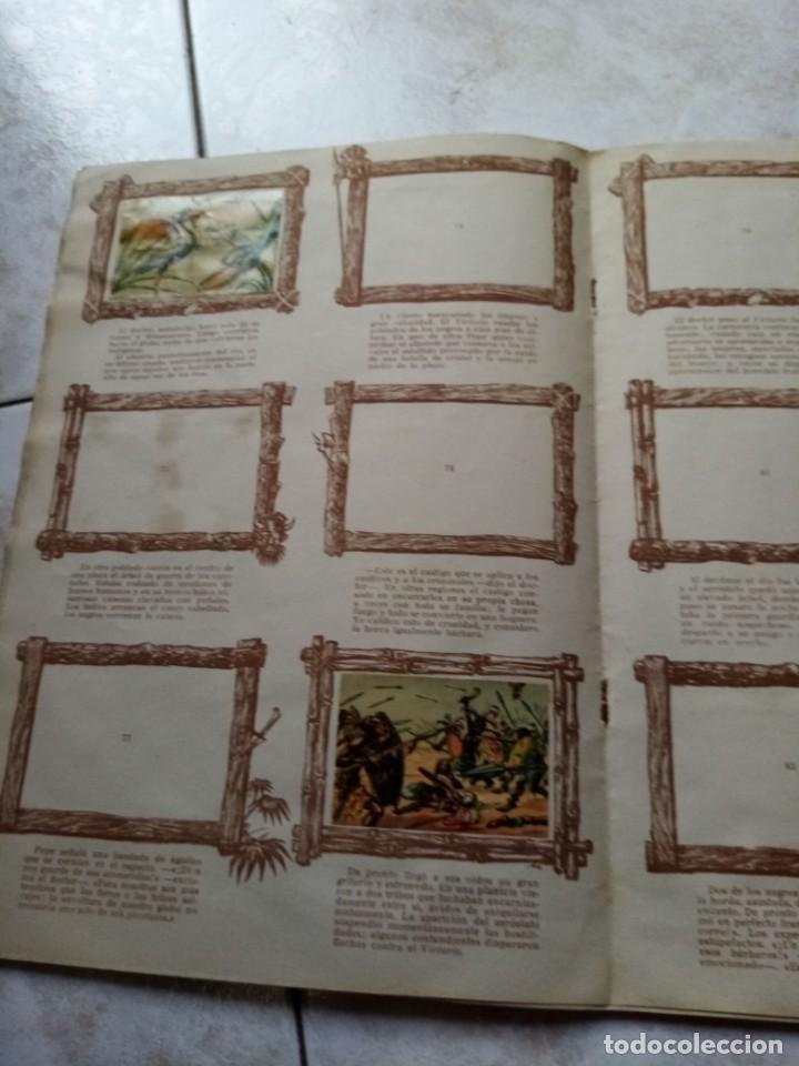 Coleccionismo Álbumes: ALBUM DE CROMOS CINCO SEMANAS EN GLOBO / TORAY - Foto 15 - 276957288