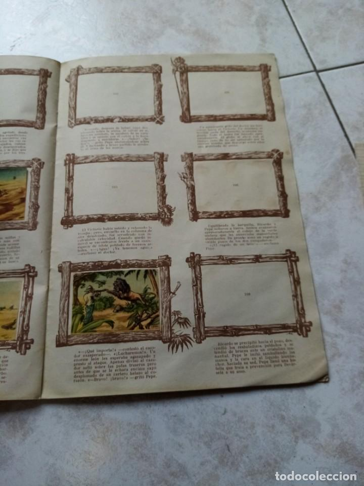 Coleccionismo Álbumes: ALBUM DE CROMOS CINCO SEMANAS EN GLOBO / TORAY - Foto 20 - 276957288