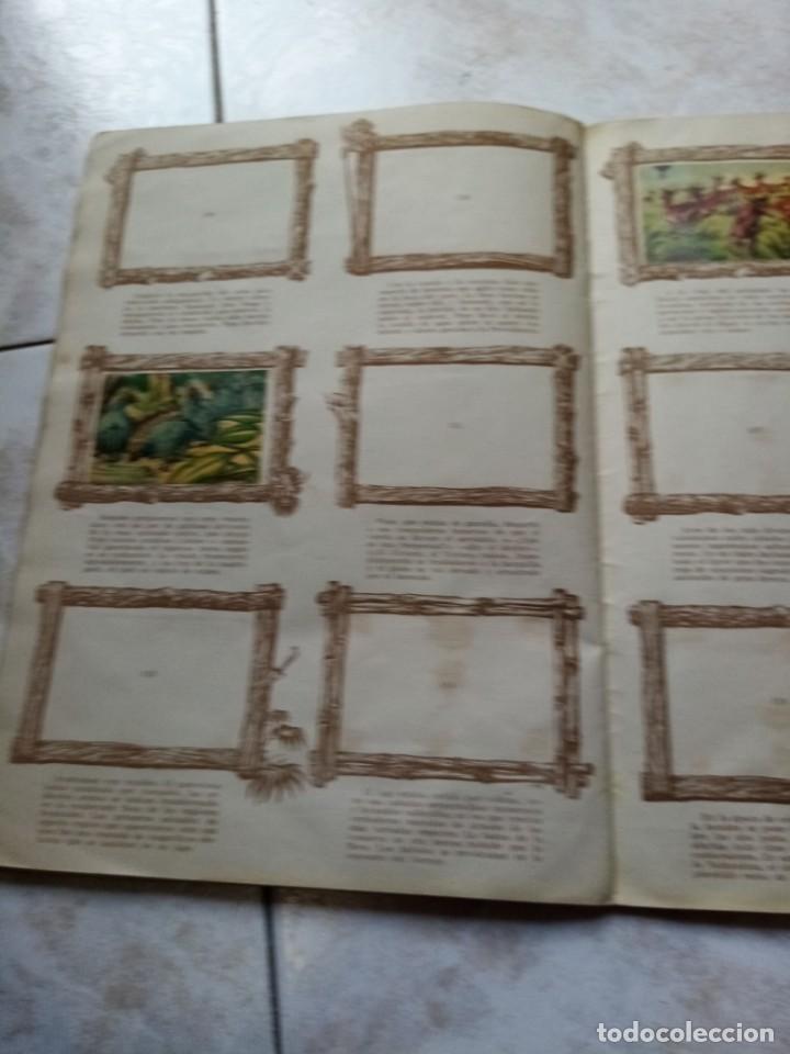 Coleccionismo Álbumes: ALBUM DE CROMOS CINCO SEMANAS EN GLOBO / TORAY - Foto 21 - 276957288