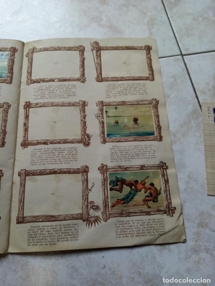 Coleccionismo Álbumes: ALBUM DE CROMOS CINCO SEMANAS EN GLOBO / TORAY - Foto 24 - 276957288