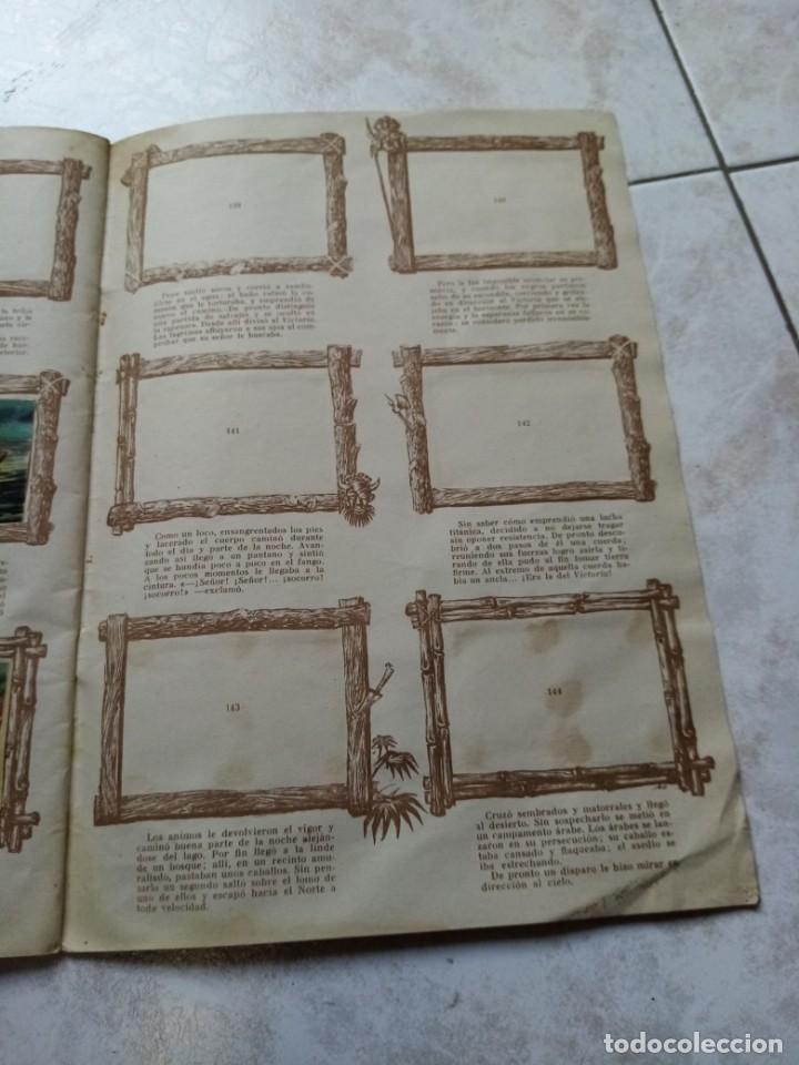 Coleccionismo Álbumes: ALBUM DE CROMOS CINCO SEMANAS EN GLOBO / TORAY - Foto 26 - 276957288