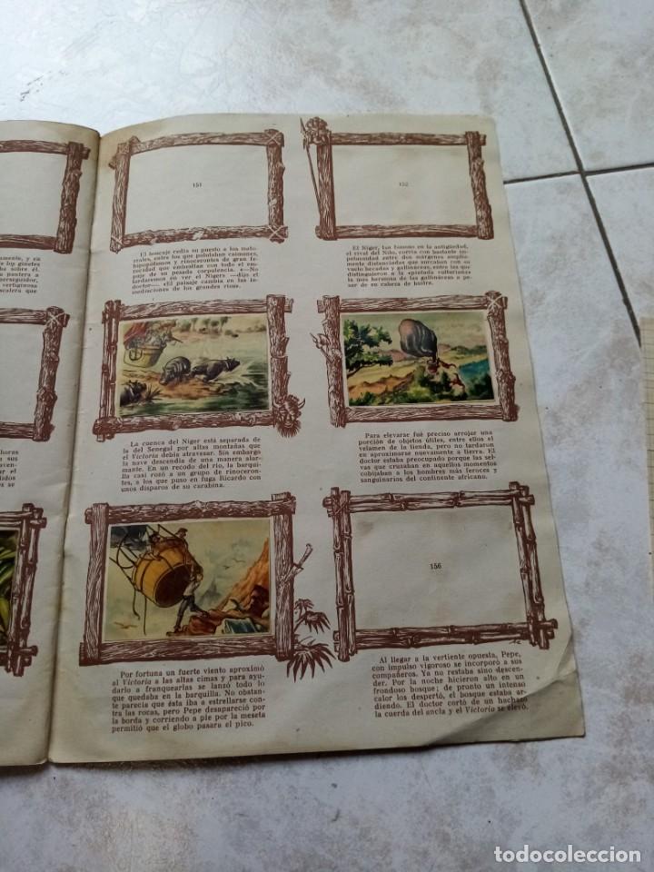 Coleccionismo Álbumes: ALBUM DE CROMOS CINCO SEMANAS EN GLOBO / TORAY - Foto 28 - 276957288