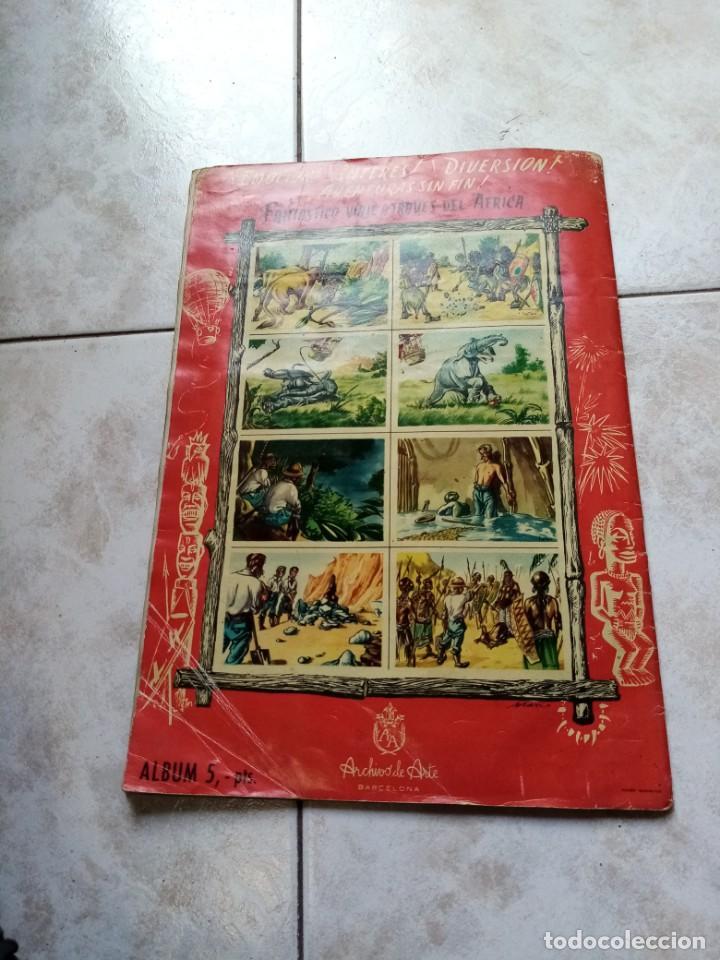 Coleccionismo Álbumes: ALBUM DE CROMOS CINCO SEMANAS EN GLOBO / TORAY - Foto 31 - 276957288