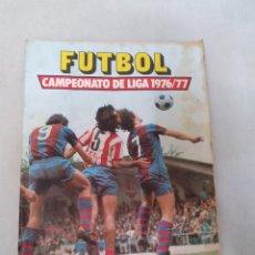 Coleccionismo Álbumes: FUTBOL, CAMPEONATO DE LIGA 1976/77. ALBUM ESTE. INCOMPLETO. 160 CROMOS.. Lote 277727258