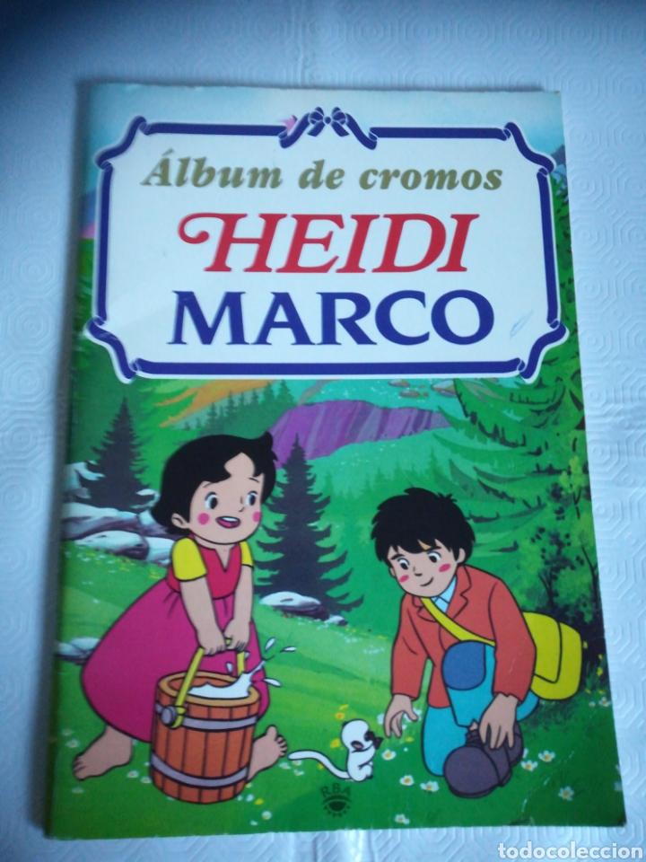ALBUM HEIDI Y MARCO (Coleccionismo - Cromos y Álbumes - Álbumes Incompletos)