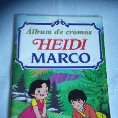 Coleccionismo Álbumes: ALBUM HEIDI Y MARCO. Lote 278618428
