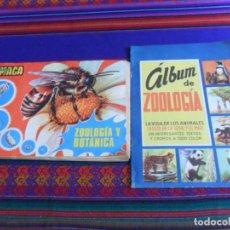 Coleccionismo Álbumes: ÁLBUM DE ZOOLOGÍA CHOCOLATES SURROCA 1957 Y ZOOLOGÍA Y BOTÁNICA MAGA 1969 INCOMPLETO.. Lote 279430203