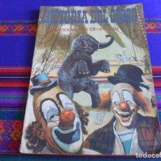 Coleccionismo Álbumes: CON CUPÓN, HISTORIA DEL CIRCO INCOMPLETO FALTAN 32 DE 179 CROMOS. ADA AÑOS 60. DIFÍCIL.. Lote 279433783
