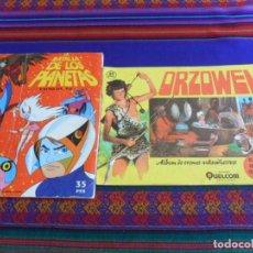 Coleccionismo Álbumes: ORZOWEI INCOMPLETO. QUELCOM 1977. REGALO LA BATALLA DE LOS PLANETAS ÉXITO DE TV INCOMPLETO. FHER.. Lote 279434608