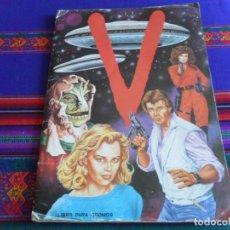 Coleccionismo Álbumes: V LOS VISITANTES INCOMPLETO FALTAN 28 CROMOS DE 243 CROMOS. MAGA 1985.. Lote 279444403