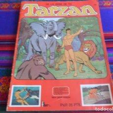 Coleccionismo Álbumes: CON CUPÓN, DE LA SERIE DE TV TARZAN VACÍO. FHER PANRICO 1979.. Lote 279444998