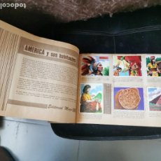 Coleccionismo Álbumes: ÁLBUM MAGA. AMERICA Y SUS HABITANTES. 1968.. Lote 281776363