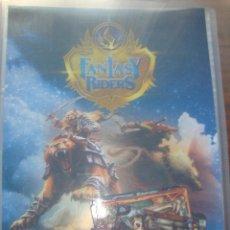 Coleccionismo Álbumes: ALBUM DE CROMOS FANTASY RIDERS CON 132 CROMOS. Lote 284038813