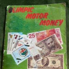 Coleccionismo Álbumes: ANTIGUO ÁLBUM OLIMPIC MOTOR MONEY TELEKITOS. Lote 285410248