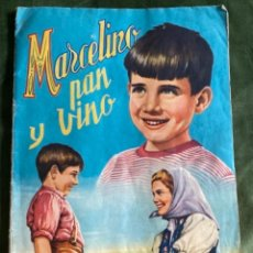 Coleccionismo Álbumes: ANTIGUO ÁLBUM MARCELINO PAN Y VINO CON 170 CROMOS. Lote 285411378