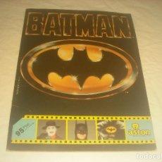 Coleccionismo Álbumes: BATMAN . ED. ASTON. CONTIENE 83 CROMOS DE 162.. Lote 285769588