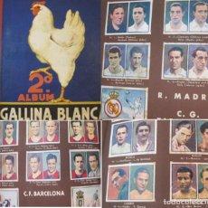 Coleccionismo Álbumes: GALLINA BLANCA-ALBUM 2-INCOMPLETO-SECCIONES FUTBOL BOXEO DEPORTES COMPLETO-VER FOTOS-(V-22.922). Lote 286177228