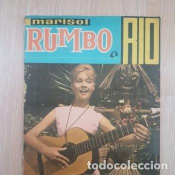 MARISOL RUMBO A RIO. ED. FHER. AÑO 1963 (FALTAN 20 CROMOS) IMPECABLE!!! (Coleccionismo - Cromos y Álbumes - Álbumes Incompletos)