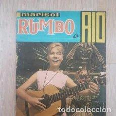Coleccionismo Álbumes: MARISOL RUMBO A RIO. ED. FHER. AÑO 1963 (FALTAN 20 CROMOS) IMPECABLE!!!. Lote 286595123