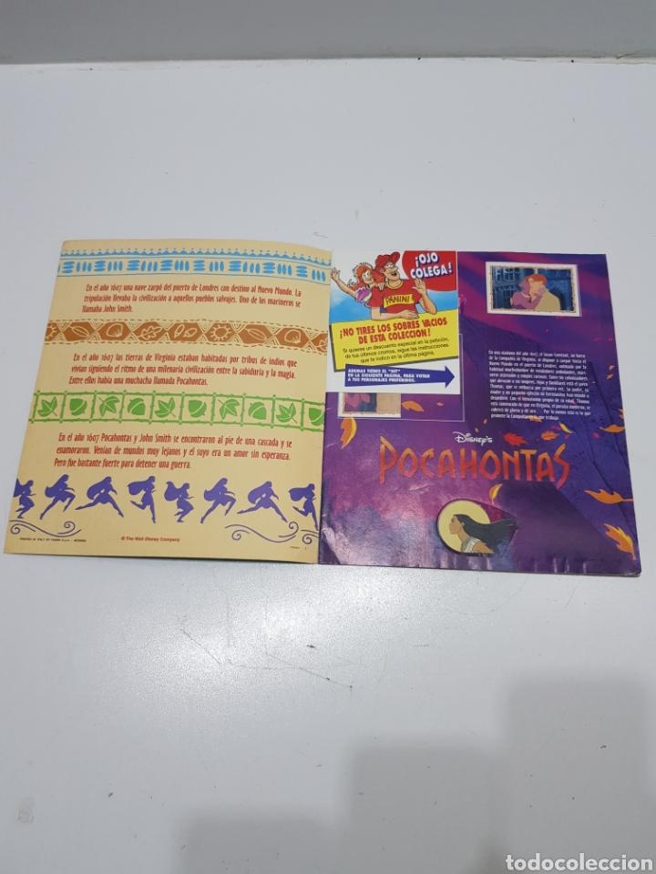 Coleccionismo Álbumes: ALBUM CROMOS POCAHONTAS INCOMPLETO - Foto 2 - 286787738