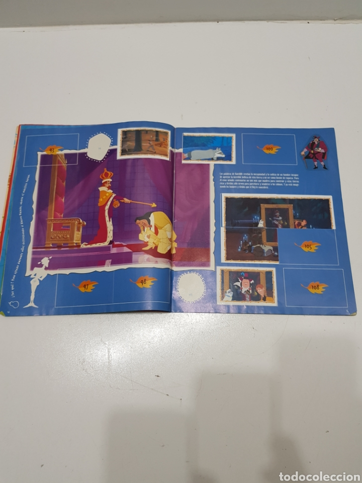 Coleccionismo Álbumes: ALBUM CROMOS POCAHONTAS INCOMPLETO - Foto 7 - 286787738