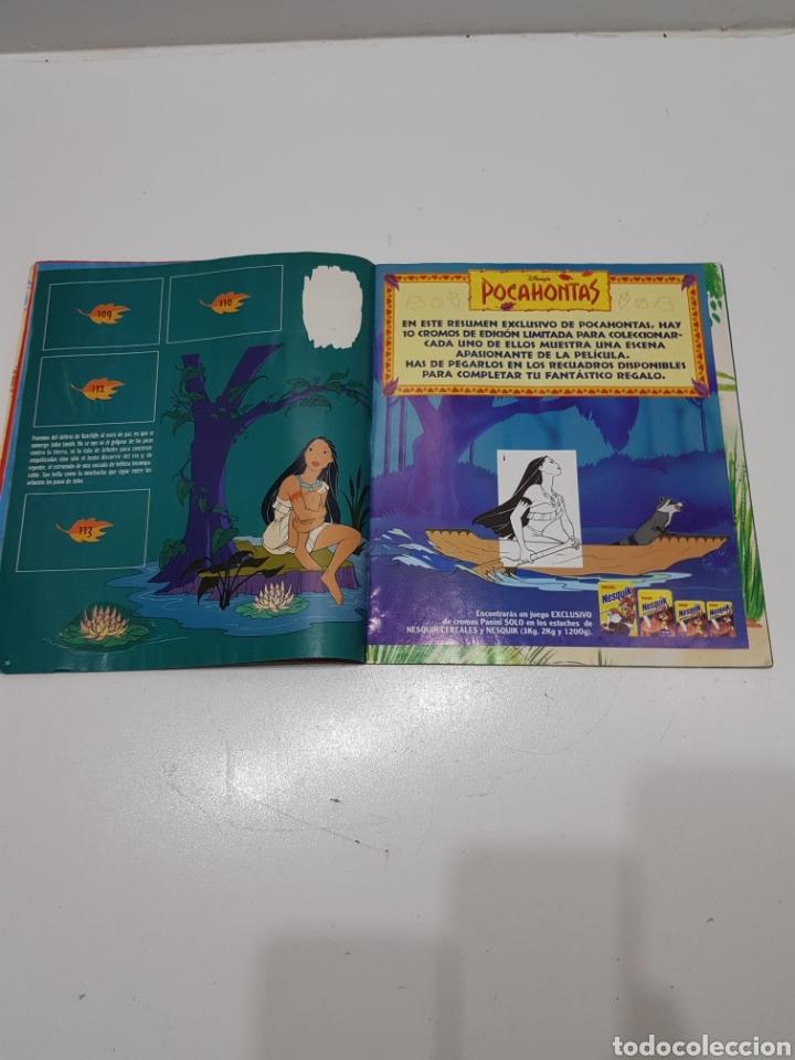 Coleccionismo Álbumes: ALBUM CROMOS POCAHONTAS INCOMPLETO - Foto 8 - 286787738