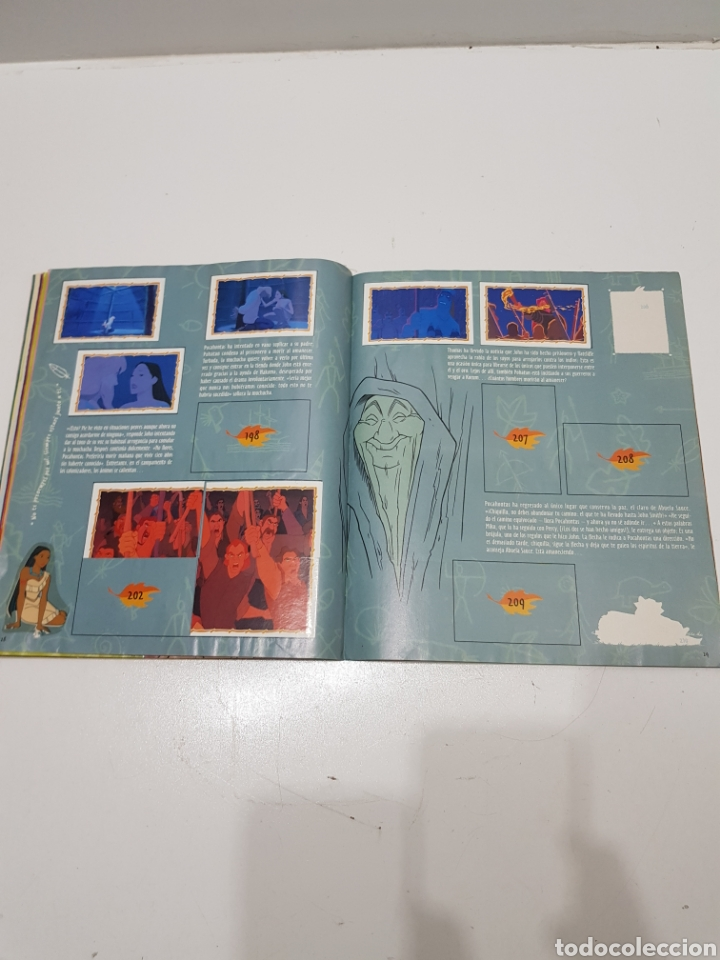 Coleccionismo Álbumes: ALBUM CROMOS POCAHONTAS INCOMPLETO - Foto 19 - 286787738