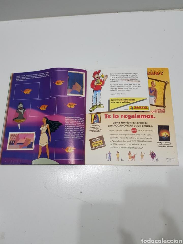 Coleccionismo Álbumes: ALBUM CROMOS POCAHONTAS INCOMPLETO - Foto 21 - 286787738