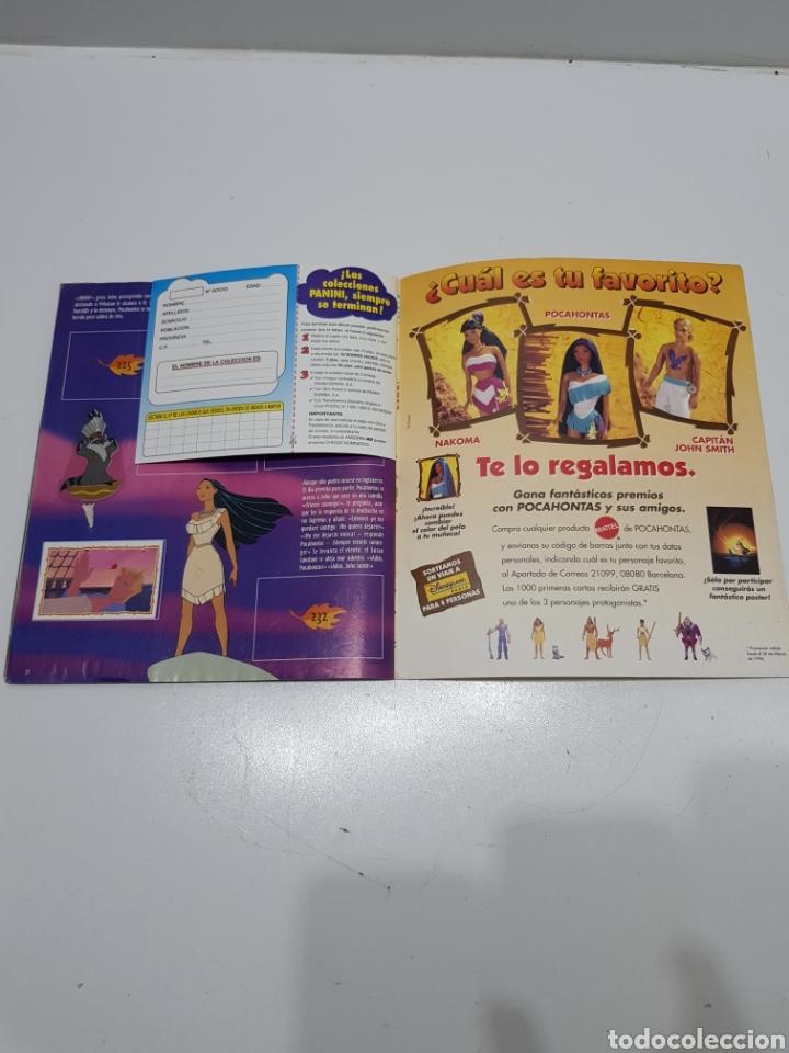 Coleccionismo Álbumes: ALBUM CROMOS POCAHONTAS INCOMPLETO - Foto 22 - 286787738