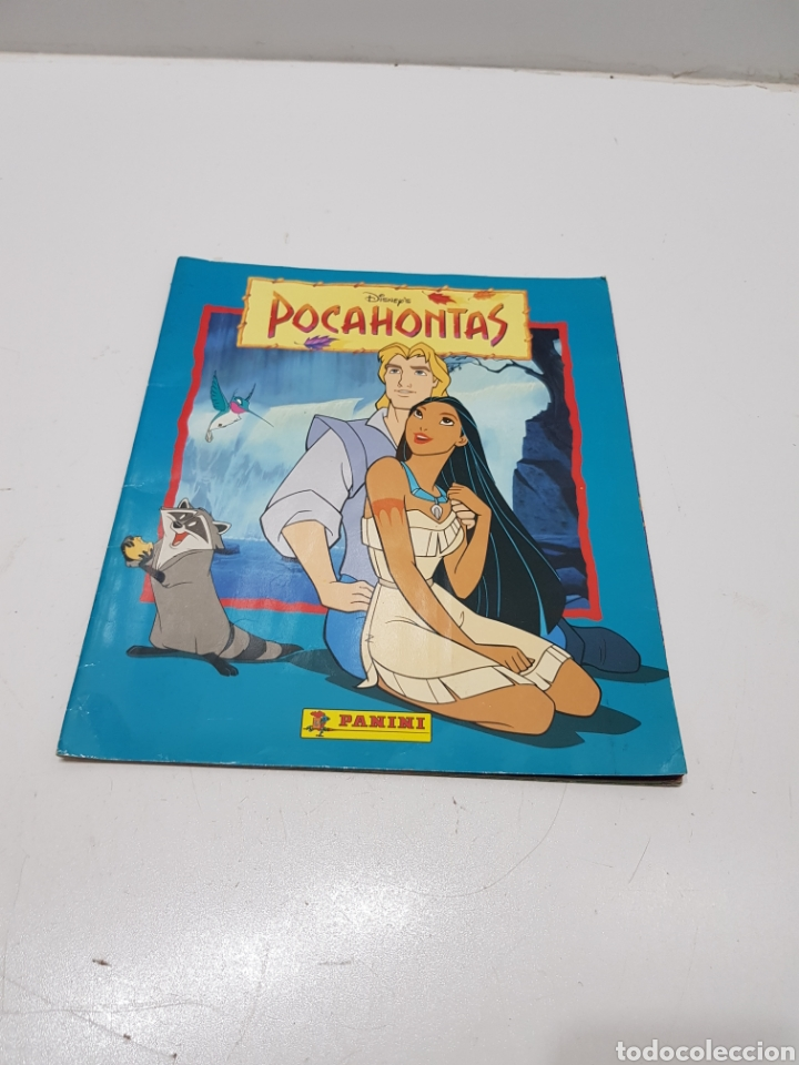 ALBUM CROMOS POCAHONTAS INCOMPLETO (Coleccionismo - Cromos y Álbumes - Álbumes Incompletos)