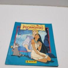 Coleccionismo Álbumes: ALBUM CROMOS POCAHONTAS INCOMPLETO. Lote 286787738