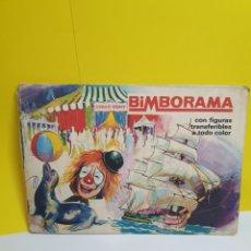 Coleccionismo Álbumes: BIMBORAMA CON ALGUNA CALCAMONIA PUESTA. Lote 286930798