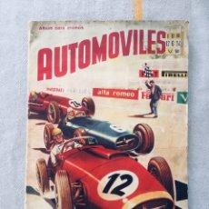 Coleccionismo Álbumes: ÁLBUM AUTOMÓVILES FHER 1958. Lote 287168623