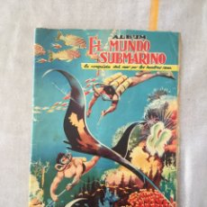 Coleccionismo Álbumes: ÁLBUM MUNDO SUBMARINO. FERMA. Lote 287169918