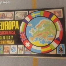 Coleccionismo Álbumes: ÁLBUM EUROPA. CHOCOLATES LAS COMAS. Lote 287174948
