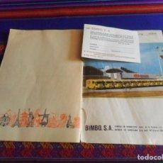 Coleccionismo Álbumes: LA VUELTA AL MUNDO CON BIMBO INCOMPLETO CON CUPÓN Y 31 DE 288 CROMOS. BIMBO AÑOS 60.. Lote 287565018