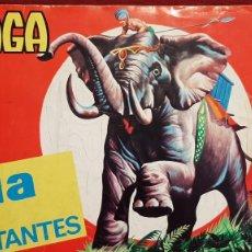 Coleccionismo Álbumes: ÁLBUM CROMOS MAGA..ASIA Y SUS HABITANTES. 1972. Lote 287569388