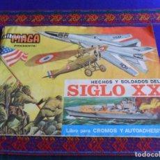 Coleccionismo Álbumes: HECHOS Y SOLDADOS DEL SIGLO XX INCOMPLETO FALTAN 54 DE 297 CROMOS. MAGA 1977. CORRECTO ESTADO.. Lote 287570923