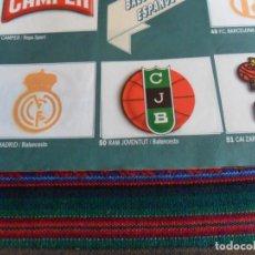 Coleccionismo Álbumes: CON CROMO Nº 50 RAM JOVENTUT MARCA MANÍA! INCOMPLETO FALTAN 45 DE 205 CROMOS. ESTE 1987.. Lote 287575903