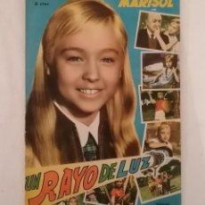 Coleccionismo Álbumes: ÁLBUM CROMOS MARISOL UN RAYO DE LUZ FHER 1960 ¡CASI COMPLETO!. Lote 287806413