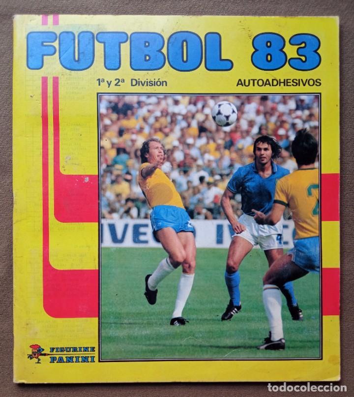 ÁLBUM DE CROMOS FUTBOL 83 PANINI LIGA (Coleccionismo - Cromos y Álbumes - Álbumes Incompletos)