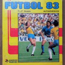 Coleccionismo Álbumes: ÁLBUM DE CROMOS FUTBOL 83 PANINI LIGA. Lote 287846273